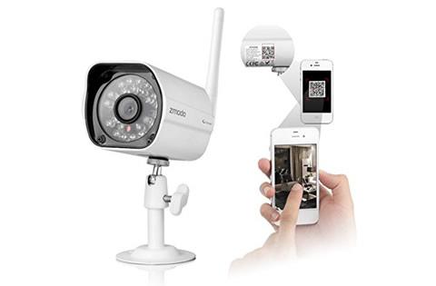 C maras wifi para vigilancia interior y exterior for Camara vigilancia exterior