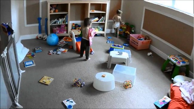 camaras para vigilar a bebes y niños en el hogar