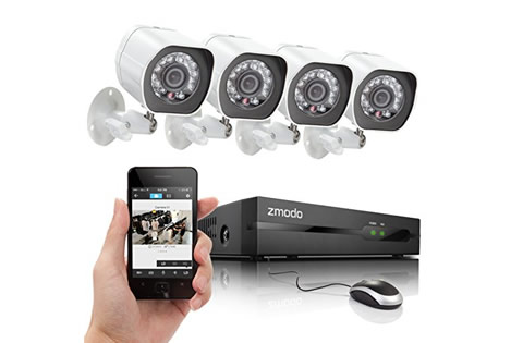 C mara infrarroja para vigilancia leds visi n nocturna - Camaras de vigilancia inalambricas ...