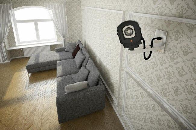 videovigilancia en la casa