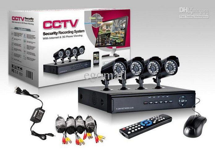 kit de 8 camaras cctv en monterrey inalambricas para casa oficina